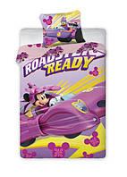 Комплект постельного белья Детский NR 1321 Faro 4744 Фиолетовый, Розовый, Желтый