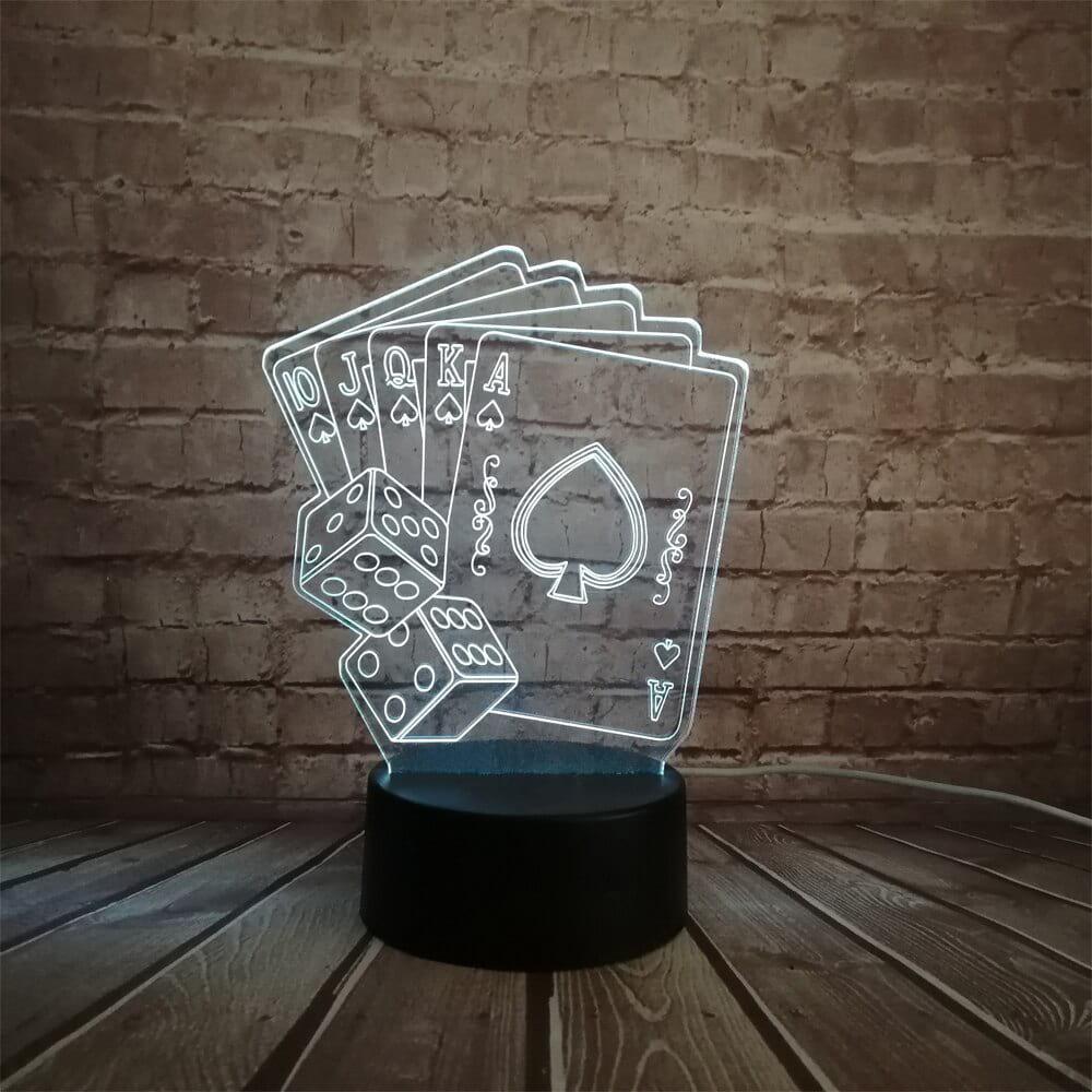Сменная панель для 3D светильника 3D Lamp Флеш Рояль (SP-3148)