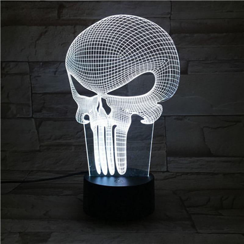 Сменная панель для 3D светильника 3D Lamp Каратель (SP-3140)