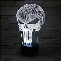 Сменная панель для 3D светильника 3D Lamp Каратель (SP-3140), фото 1