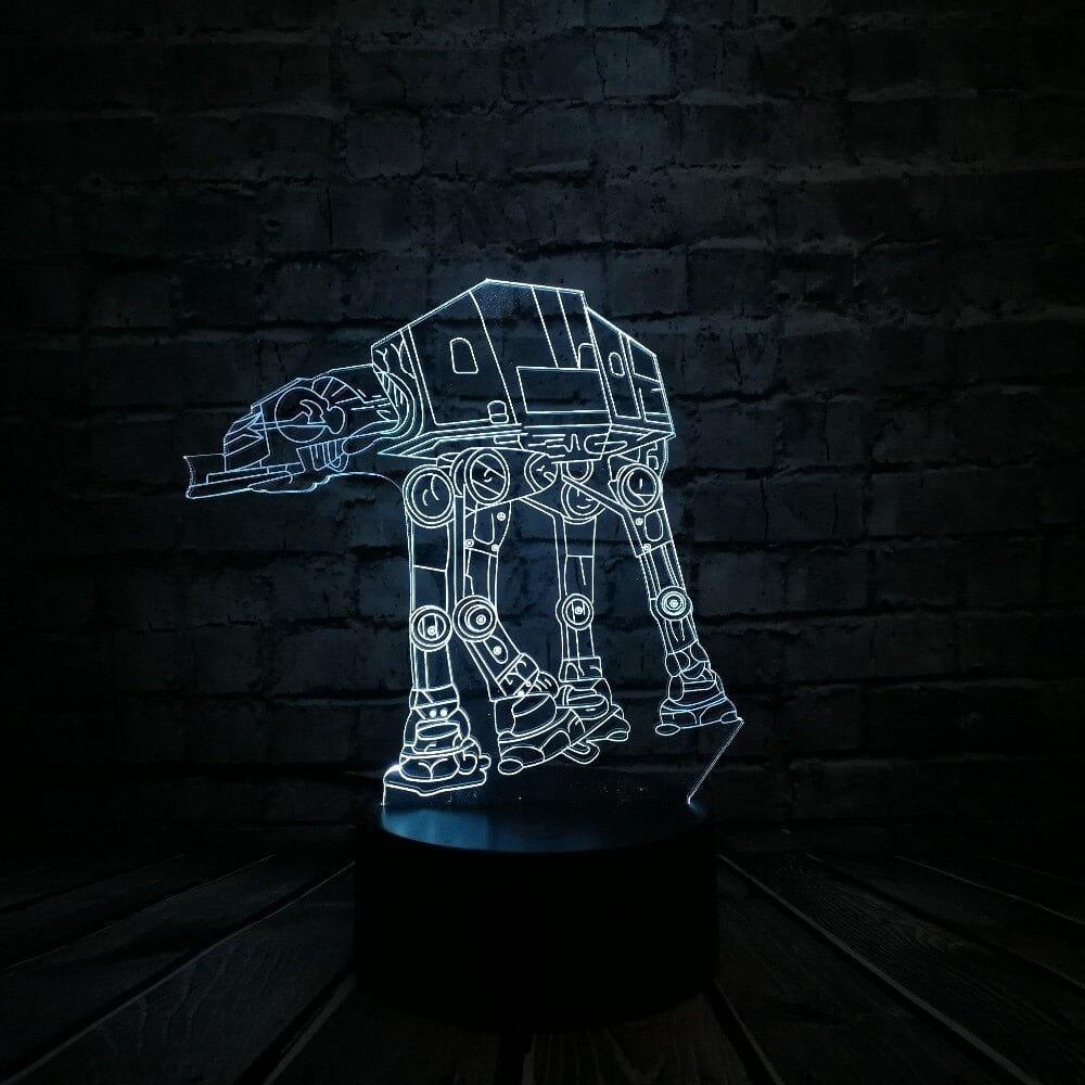 Сменная панель для 3D светильника 3D Lamp AT-AT (SP-3138)
