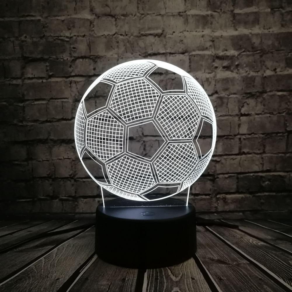 Сменная панель для 3D светильника 3D Lamp Футбольный Мяч (SP-3128)