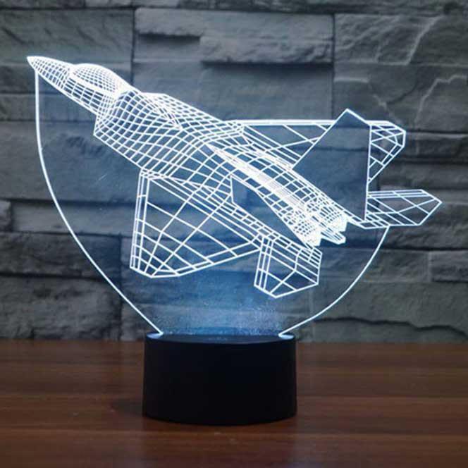 Сменная панель для 3D светильника 3D Lamp Истребитель (SP-3112)