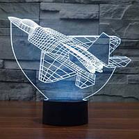 Сменная панель для 3D светильника 3D Lamp Истребитель (SP-3112), фото 1