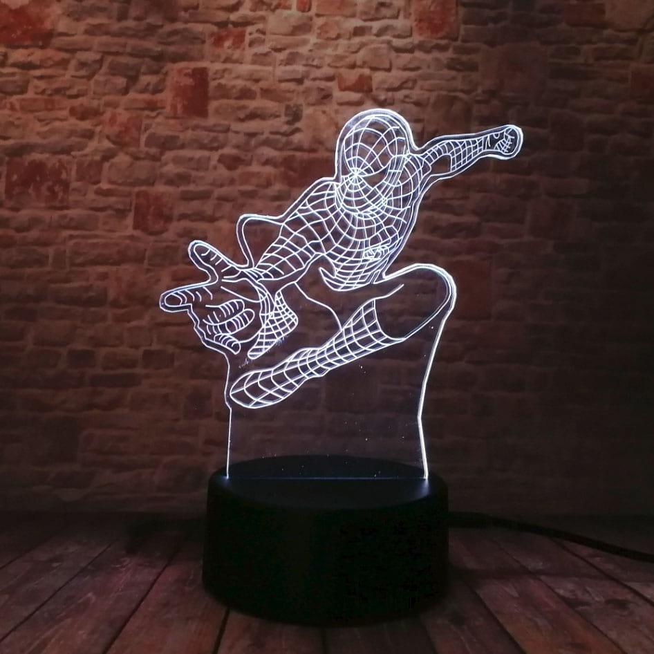 Сменная панель для 3D светильника 3D Lamp Человек Паук (SP-3110)