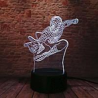 Сменная панель для 3D светильника 3D Lamp Человек Паук (SP-3110), фото 1