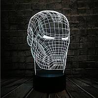 Сменная панель для 3D светильника 3D Lamp Железный Человек (SP-3104), фото 1