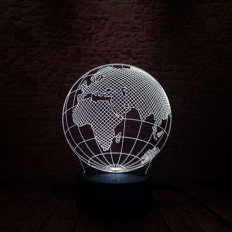 Сменная панель для 3D светильника 3D Lamp Планета Земля (SP-3102)