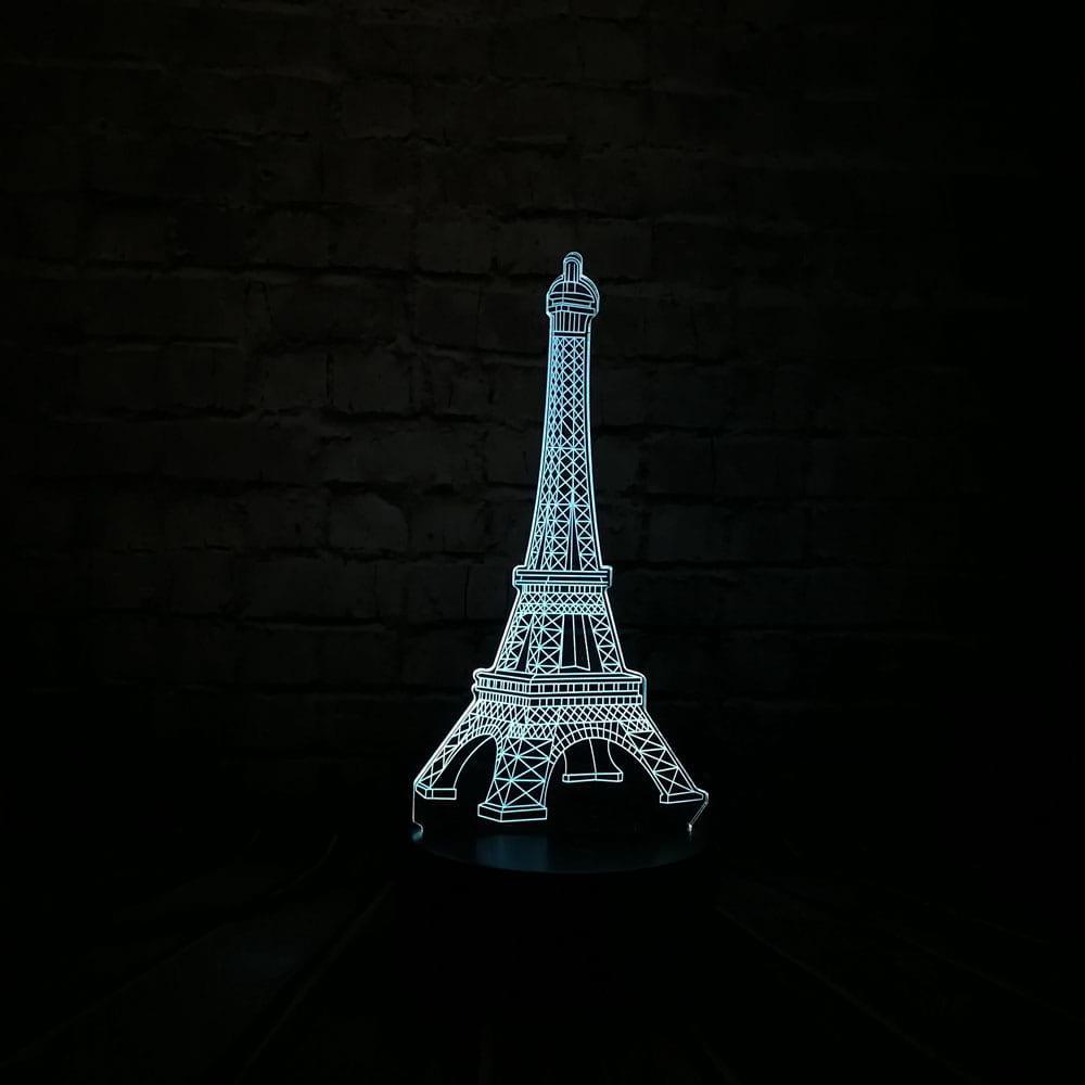 Сменная панель для 3D светильника 3D Lamp Эйфелева башня (SP-3082)