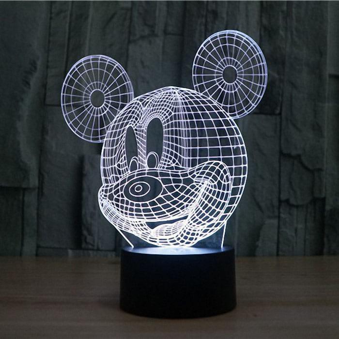 Сменная панель для 3D светильника 3D Lamp Микки Маус (SP-3072)