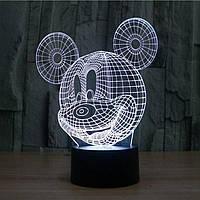 Сменная панель для 3D светильника 3D Lamp Микки Маус (SP-3072), фото 1