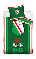 Комплект постельного белья Детский NR 1363 Carbotex 0665 Зеленый, Красный, Белый