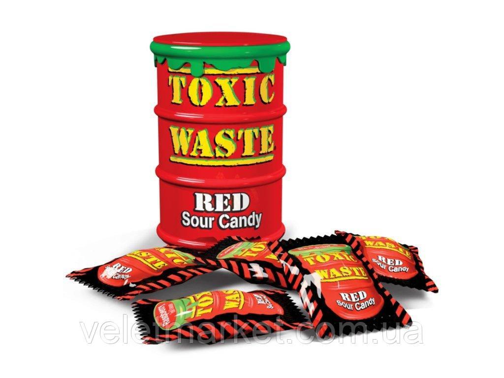 Кислые конфеты Toxic Waste 42 г