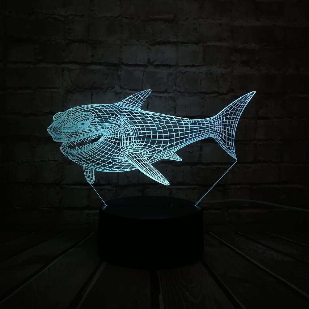 Сменная панель для 3D светильника 3D Lamp Акула (SP-3050)