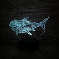 Сменная панель для 3D светильника 3D Lamp Акула (SP-3050), фото 1