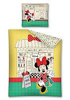 Комплект постельного белья Детский NR 637 Detexpol 6295 Красный, Зеленый, Желтый