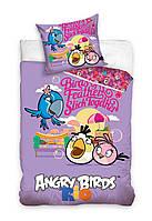 Комплект постельного белья Детский NR 729 Carbotex 7447 Фиолетовый