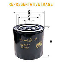 Фильтр масляный ВАЗ 2101-07, 2121-21213-21214-2129 (WIX-Filtron)