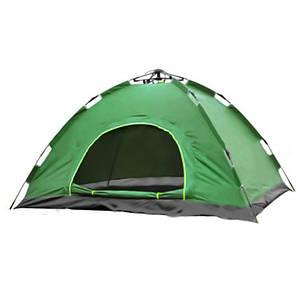 Палатка автомат 2 местная зеленая 149982
