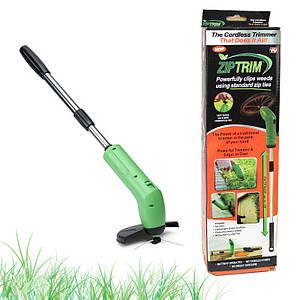 Ручная беспроводная газонокосилка триммер для травы Zip Trim 150032