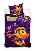 Комплект постельного белья Детский NR 887 Carbotex 1314 Фиолетовый, Желтый