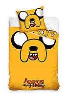 Комплект постельного белья Детский NR 889 Carbotex 2878 Оранжевый, Желтый