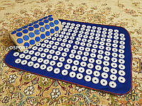 Набор коврик акупунктурный массажный + подушка Аппликатор Кузнецова (n-0002)