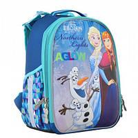 Портфель каркасный в школу для девочек h-25 frozen 1 Вересня