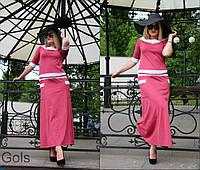 Платье женское большие размеры (цвета) СВ706