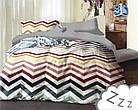 Комплект постельного белья Микроволокно HXDD-736 Collection World 9699 Разноцветный 200x220 см  40х60см, фото 2