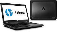 "Б/У Ноутбук / HP Zbook 17 G1 / 17.3""HD+ / i7 4800QM  / 16 RAM / 120 Gb SSD  / NVIDIA Quadro K610M 1GB, фото 1"
