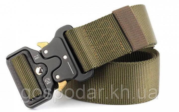 Тактический пояс Tactical Belt 120*3,5см. Олива