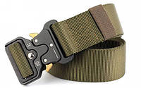 Тактический пояс Tactical Belt 120*3,5см. Олива, фото 1
