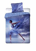 Комплект постельного белья Молодежный Хлопковый NR 349 Faro 1996 Синий