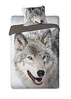 Комплект постельного белья Молодежный Хлопковый Faro 2956 Серый