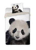 Комплект постельного белья Молодежный NR 326 Faro 8811 Черный, Серый
