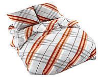 Комплект постельного белья NR 002 Oulaiya 4991 Оранжевый, Серый