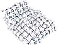 Комплект постельного белья NR 003 Oulaiya 4984 Белый, Черный