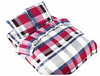 Комплект постельного белья NR 004 Oulaiya 4977 Белый, Розовый, Серый