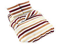 Комплект постельного белья NR 007 Oulaiya 4946 Белый, Оранжевый, Желтый