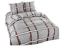 Комплект постельного белья NR 009 Oulaiya 4922 Серый, Коричневый
