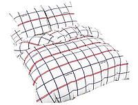 Комплект постельного белья NR 010 Oulaiya 4915 Белый, Черный, Красный