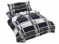 Комплект постельного белья NR 013 Oulaiya 4885 Серый, Черный