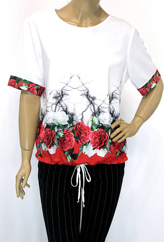 Нарядна літня блуза Lavizzion, фото 2