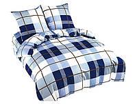 Комплект постельного белья NR 019 Oulaiya 4823 Белый, Синий