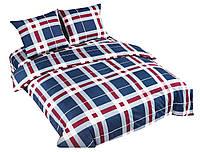 Комплект постельного белья NR 025 Oulaiya 4755 Белый, Красный, Синий
