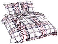Комплект постельного белья NR 027 Oulaiya 4731 Белый, Красный, Серый
