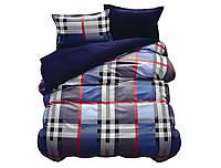 Комплект постельного белья NR 030 Oulaiya 4694 Синий, Серый, Фиолетовый