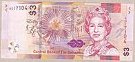 Банкнота Багамских островов 3 доллара 2019 г. UNC