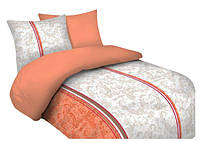 Комплект постельного белья 18 Faro 3060 Оранжевый